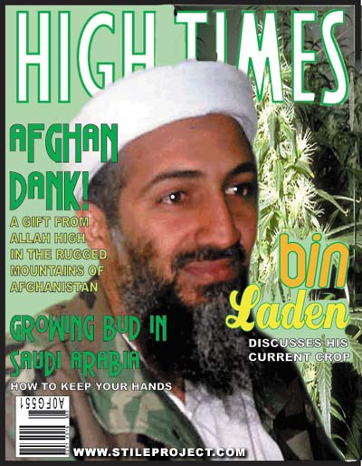 the High Times of Osama Bin Laden